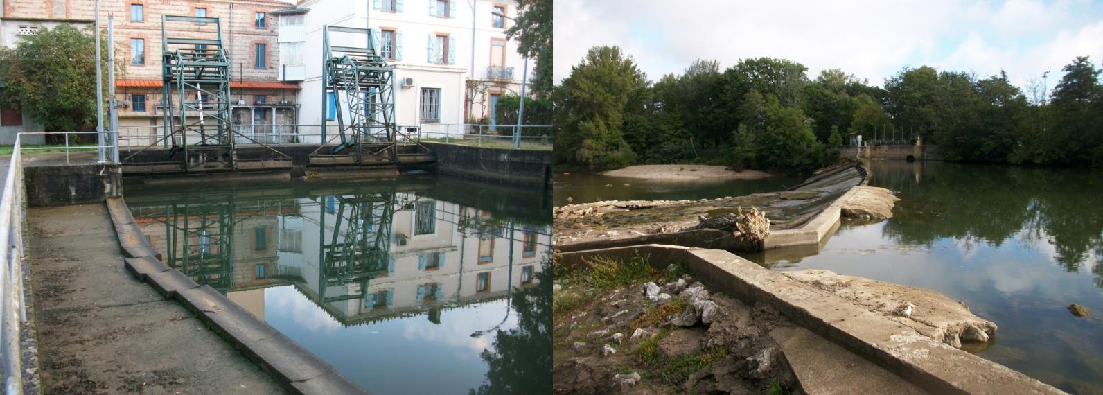 Permalien vers:Centrales du Moulin du Ramier et de la Ville