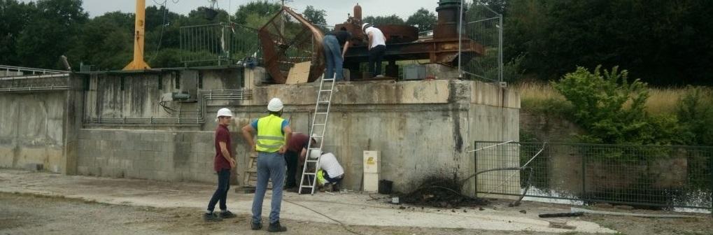 Permalien vers:Centrale de Mondavezan – reconstruction