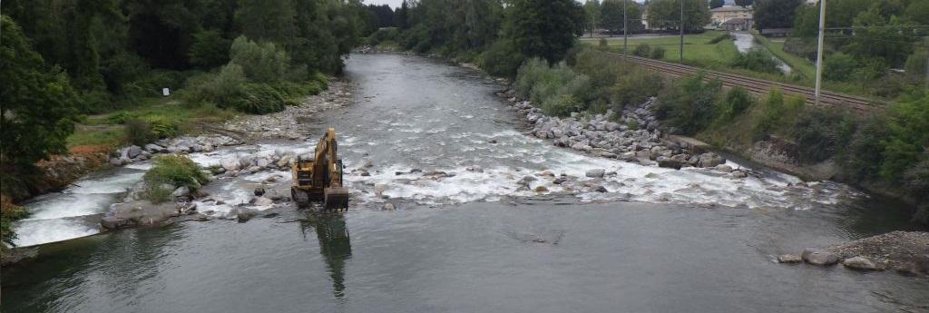 Permalien vers:Centrale Tournier – Travaux au barrage